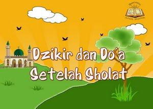 DOWNLOAD AUDIO BACAAN DZIKIR SETELAH SHALAT WAJIB oleh SYAIKH MISHARI